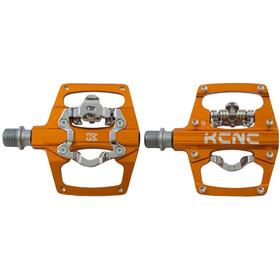 KCNC AM Trap Clipless Pedalen Dual Side, orange